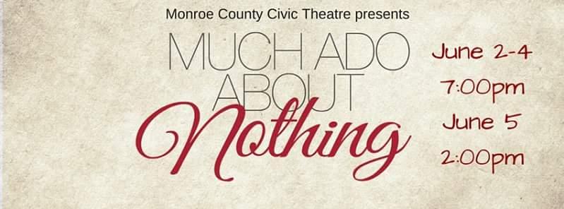 Much Ado opens TONIGHT!!
