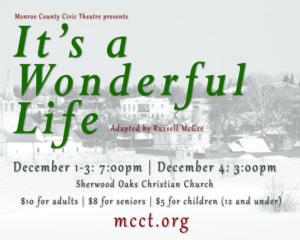 Wonderful Life Ticket Banner
