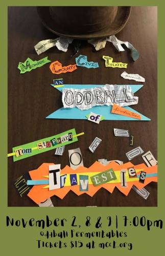 travesties poster